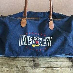 Classic Vintage Mickey Duffel Gym Bag